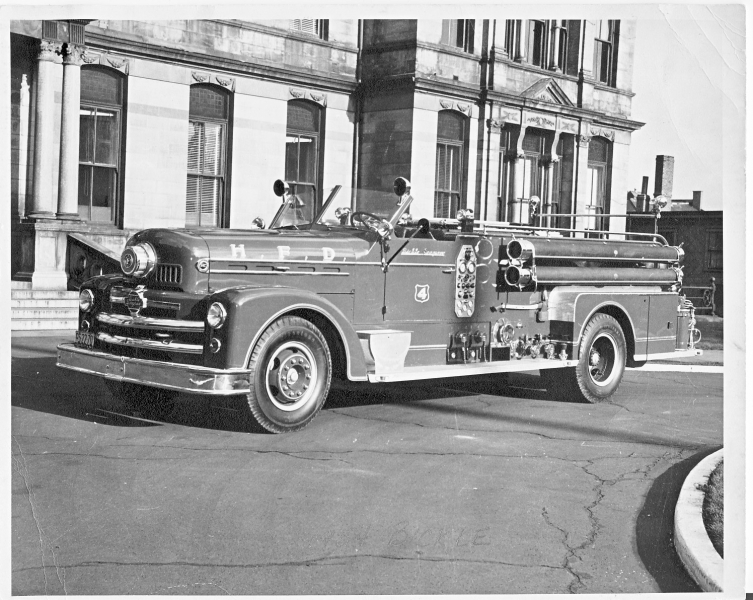 1955 Bickle Seagrave Pumper(The Cadillac)