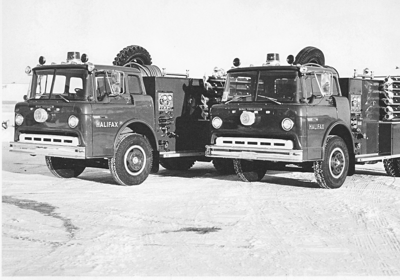 2 -1970 Ford Seagrave Tankers