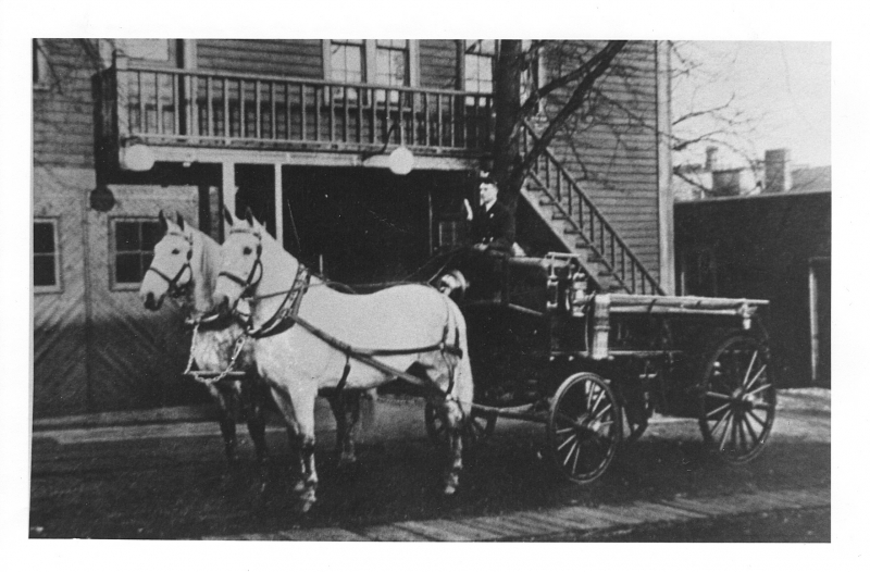 Dartmouth First Hose Wagon Gray