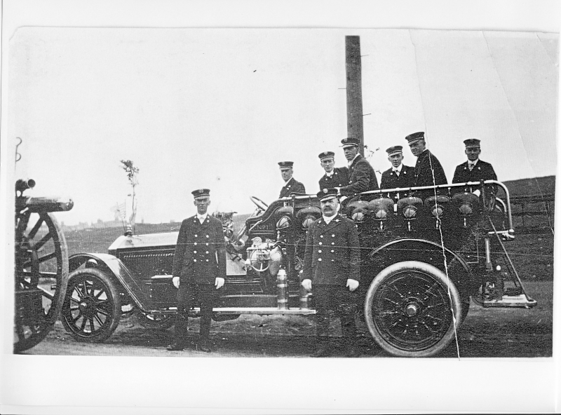 Salvage car (W.Knapman in front)