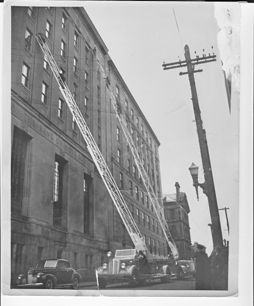 aerials at Bedford Row -training c 1940s