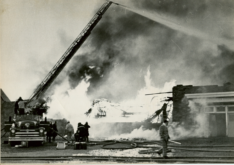 Dartmouth Memorial Rink Fire 02