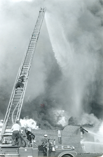 Dartmouth Memorial Rink Fire 05