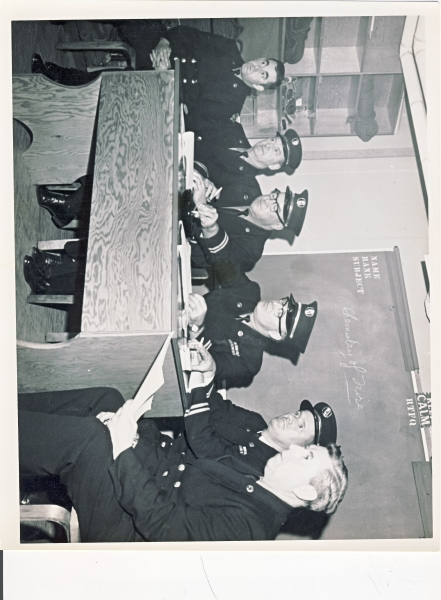 HFD Officers Training 1968 Recruit class of 65 for amalgamation