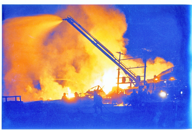 Hefler Mill fire Sackville