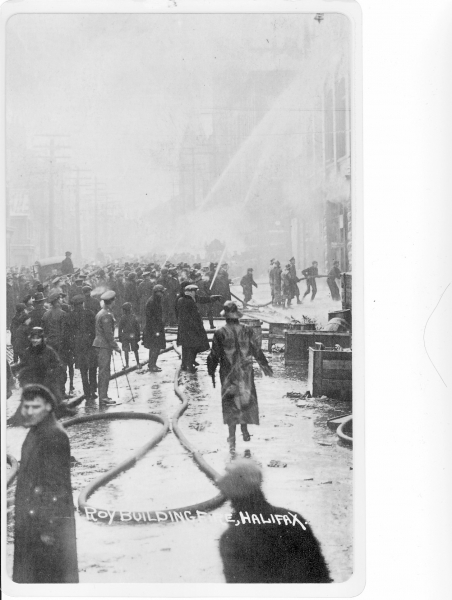 Roy Bldg fire Jan7,1919