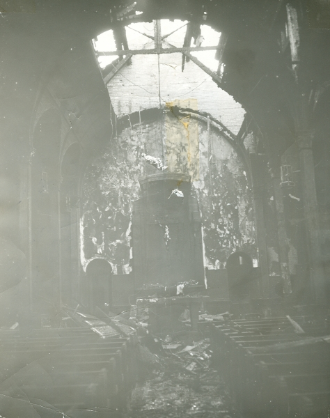 St Peters Church Fire 01