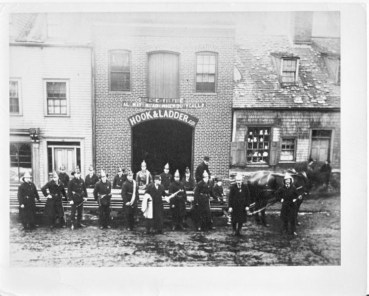 12 Grafton St Fire Station c 1880