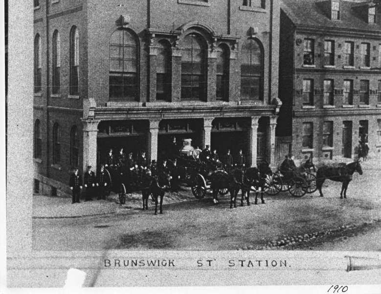 Brunswick St Station c 1910