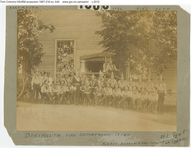 Dartmouth Fire Department 1886