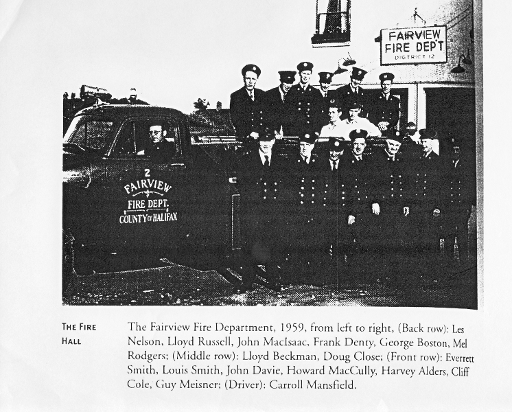 Fairview Fire Station  1959